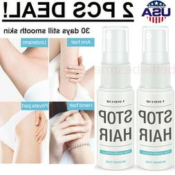 Hair Removal Spray Natural Painless Permanent Depilatory Cre