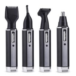 4 in 1 Beard Mustache Nose Ear Eyebrow Hair Removal Trimmer
