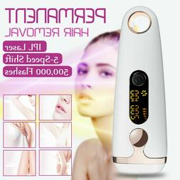 500000 Flash IPL Laser Permanent Hair Removal Painless Face