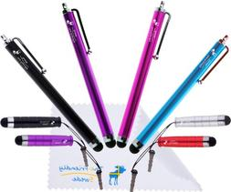 Bundle of 8 Colorful Stylus Universal Capacitive Touch Scree