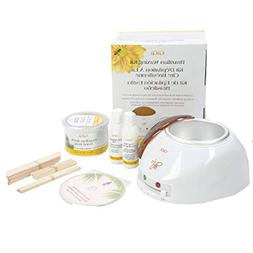 Gigi Professional Brazilian Wax Hair Removal Combo Kit, Incl