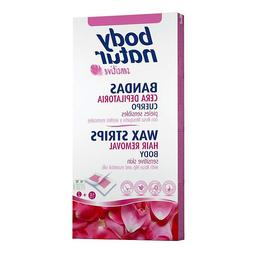 Body Natur Wax Strips Sensitive Skin Hair Removal Rose Hip E