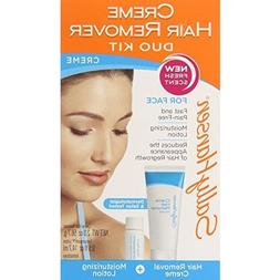 Sally Hansen Cream Hair Remover Kit for Face Upper Lip and C