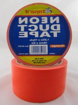"DDI Duct Tape - Neon Orange - 1. 89"" x 10 yards"