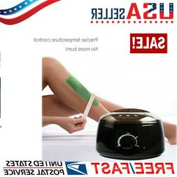 Depilatory Hot Wax Heater Warmer Hair Removal Kit  All Wax T