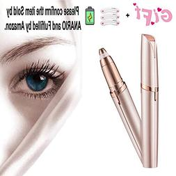 Electric Eyebrow Hair Remover Mini Eyebrow Trimmer Painless