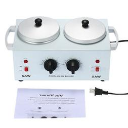 Electric Wax Heater Double Pot Wax Machine  for Spa Hair Rem