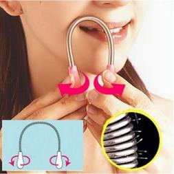 Face Facial Hair Spring Bend Remover Epilator Stick Hair Rem