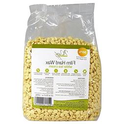 Wax Necessities Film Hard Wax Beads - White Tea Cream 35.27