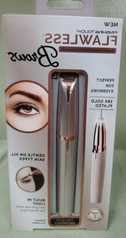 Finishing Touch Flawless Brows Eyebrow Hair Remover Blush/Ro