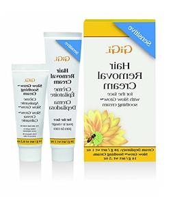 Gigi Hair Removal Cream For Face 1oz W/ Slow Grow Cream