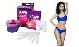 Hair Removal Microwaveable Waxing Kit For Ladies Fast Easy &