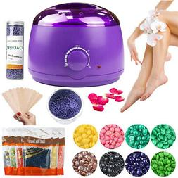 Hair Removal Wax Warmer Epilator Heater Machine + Beans Appl
