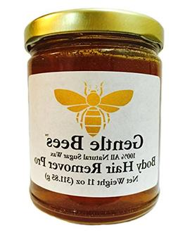 Gentle Bees Body Hair Remover Pro Sugar Wax All Natural Cott