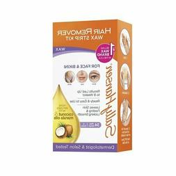Sally Hansen Hair Remover Wax Kit for Face, Brows and Bikini