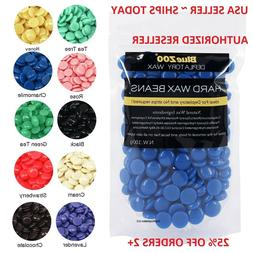 Hard Wax Beads Beans Blue Waxing Hair Removal Hot Film No St