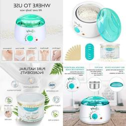 Home Waxing Kit For Hair Removal, Lansley Pearl Wax Melting