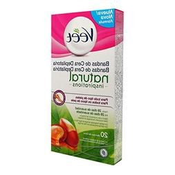Veet Natural Inspirations Legs And Body Bands Depilatory Wax