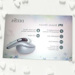 DEESS IPL cooling system home use hair removal device GP590