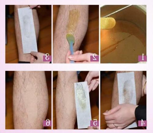 100 Depilatory Waxing Paper Salon Spa