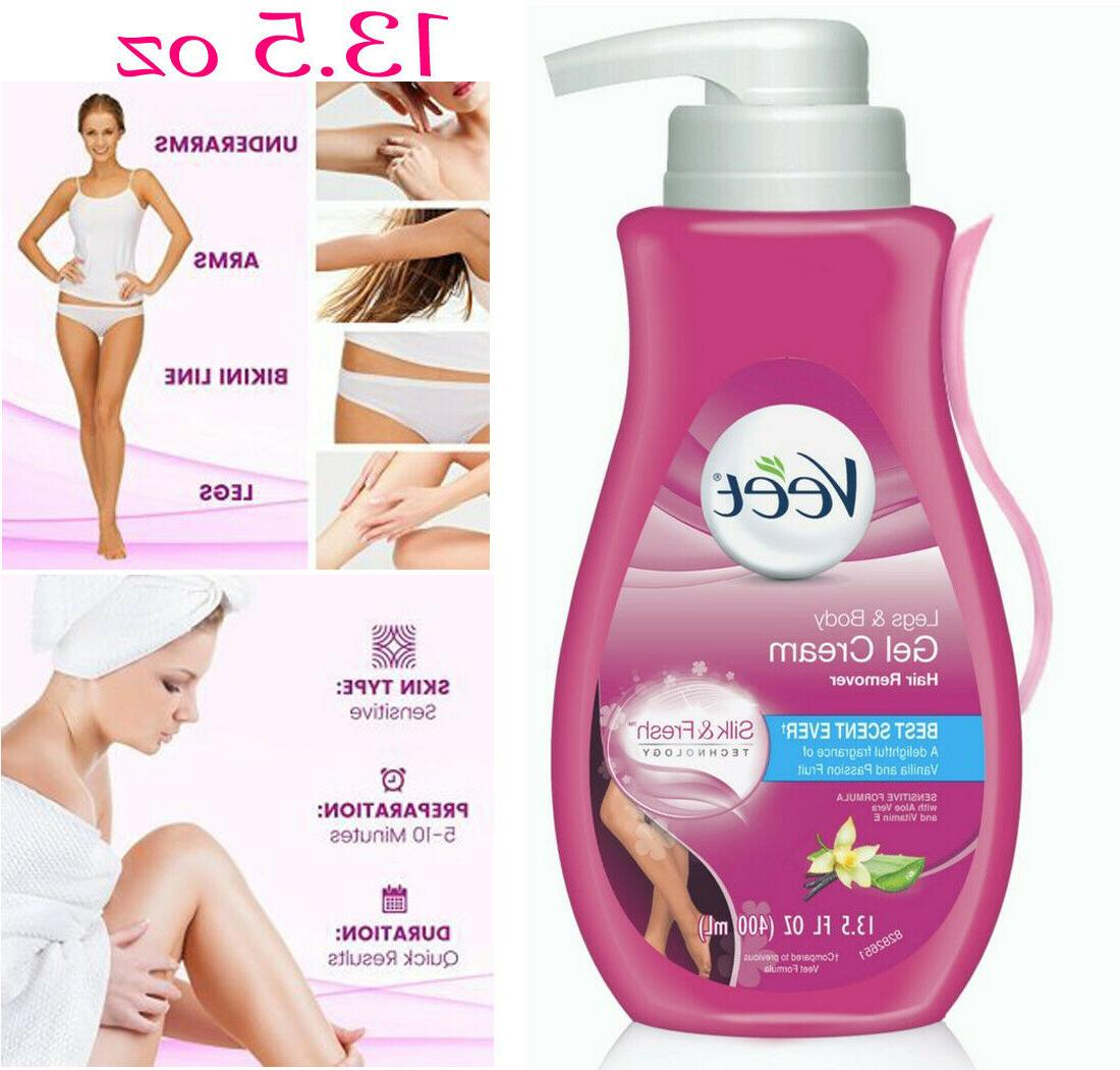 13.5 Oz VEET Hair Removal Sensitive Moisturizing Men Women C