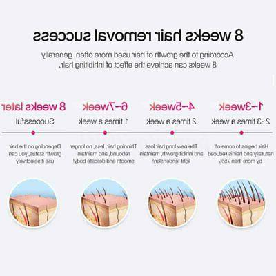2 in1 Permanent Removal 600,000 Face Skin Painless Epilator