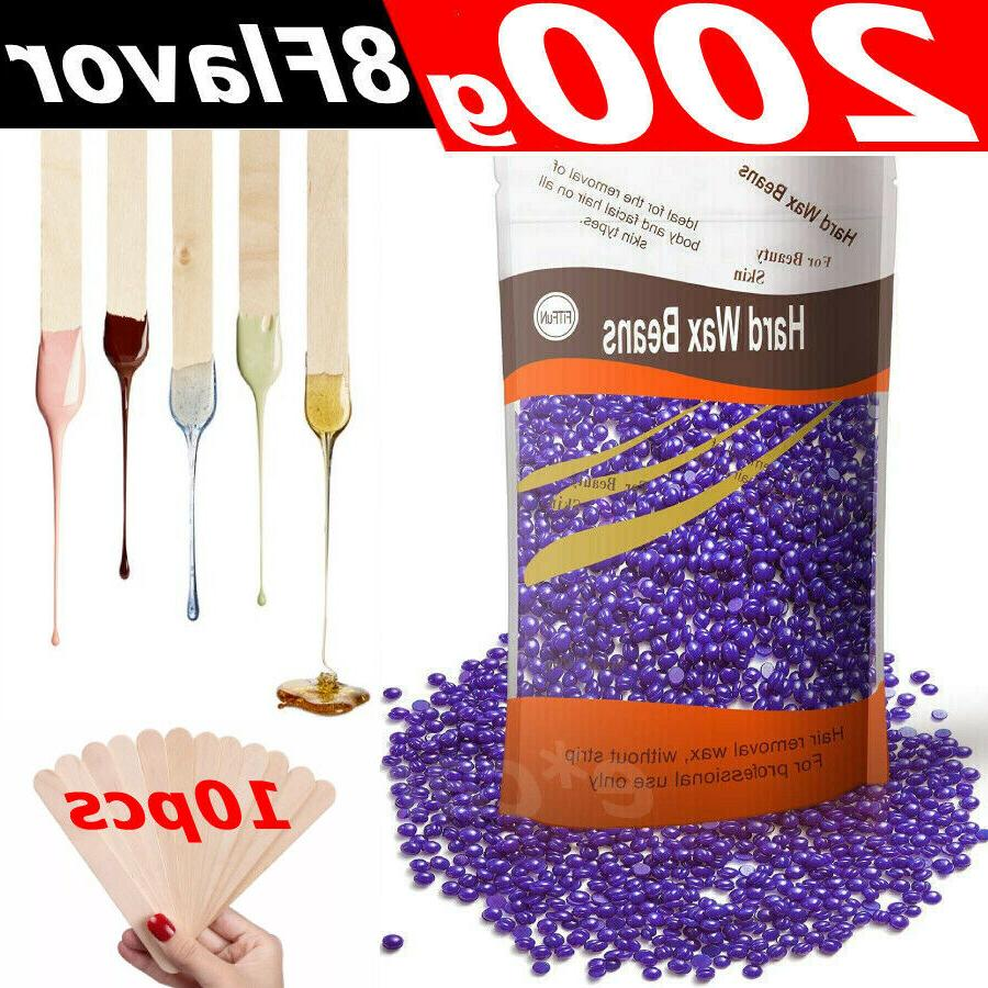 200g for painless body hair removal waxing