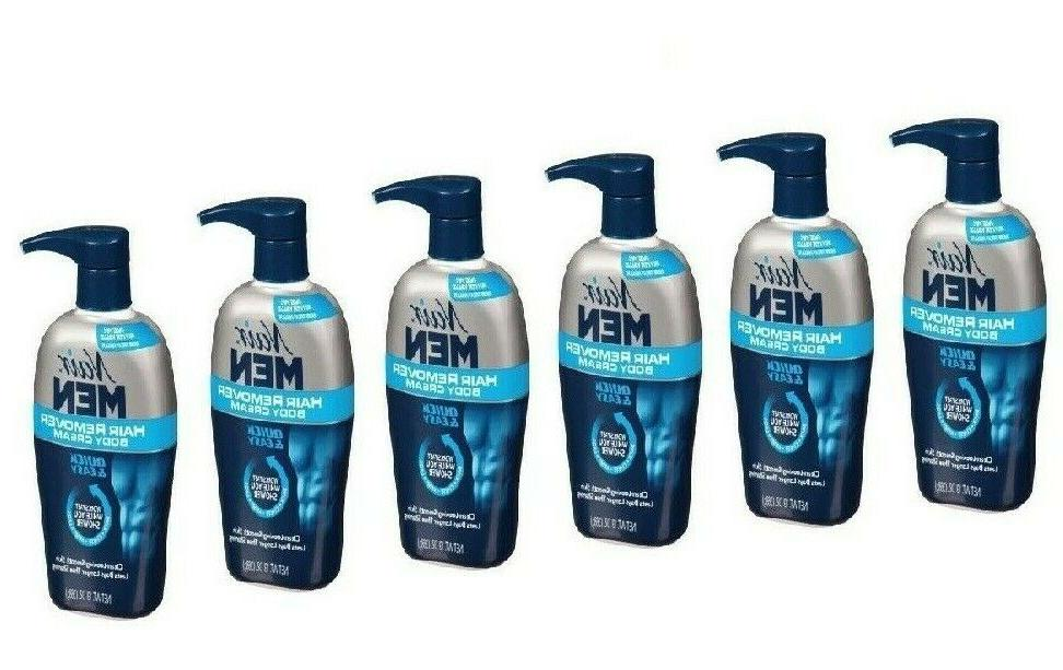 3 pack men hair removal body cream
