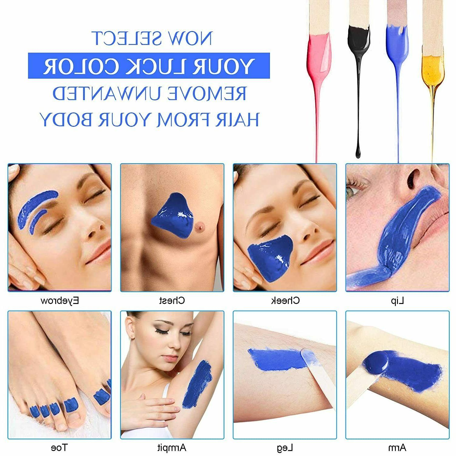 for Body Removal Waxing Natural Beads