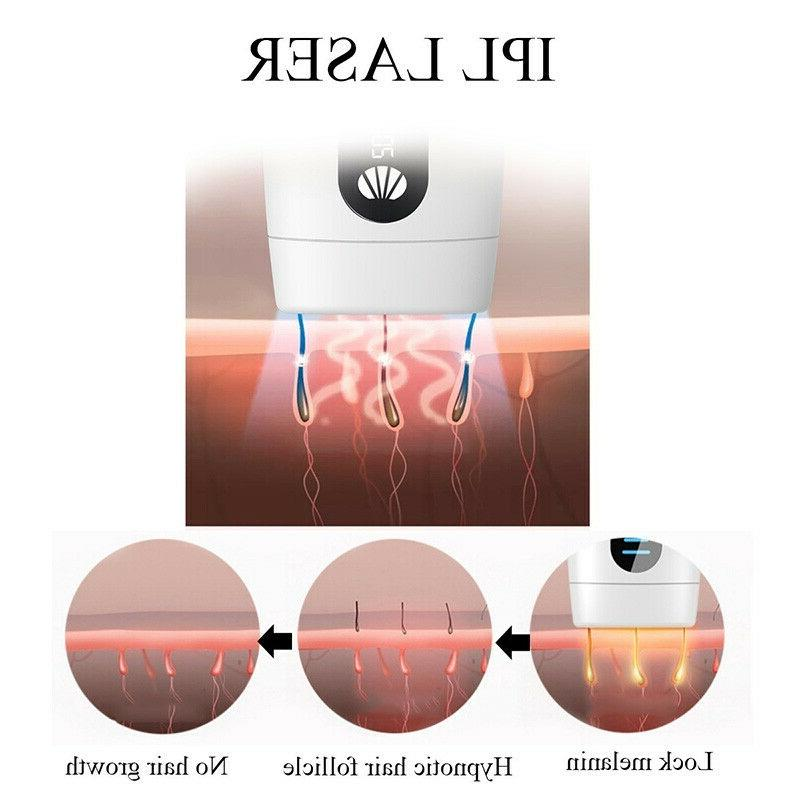 900000 Flashes Laser Hair Removal Permanent Body