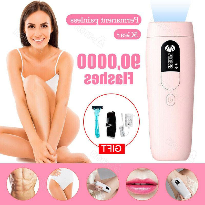 900000 flashes ipl painless laser hair removal