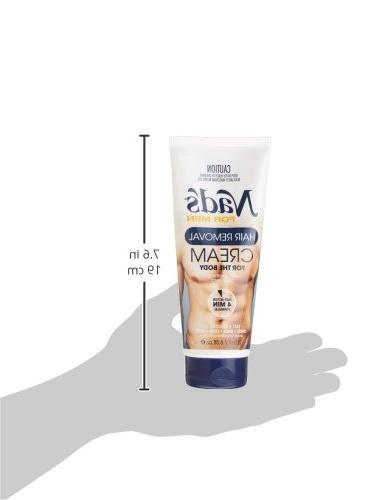 Nad's Men Hair Removal Cream, 6.8