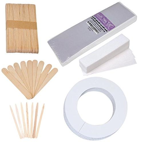 assorted waxing strips kit
