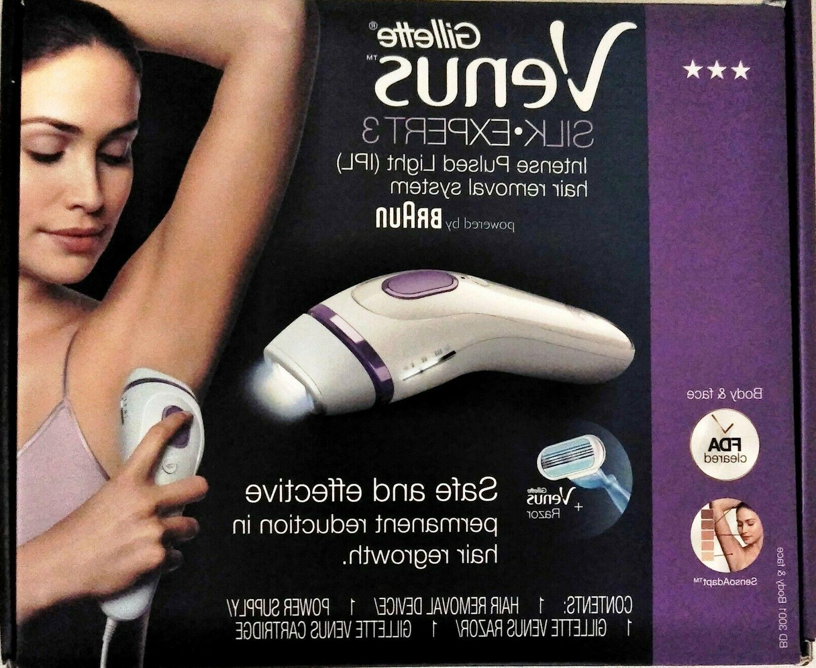 Braun Gillette Venus Silk Expert Intense Pulsed Light Bd