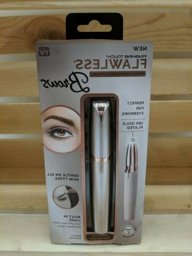 brows eyebrow hair remover blush rose gold
