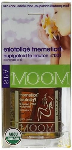 Moom Organic Hair Removal Kit With Lavender SPA Formula -- 1