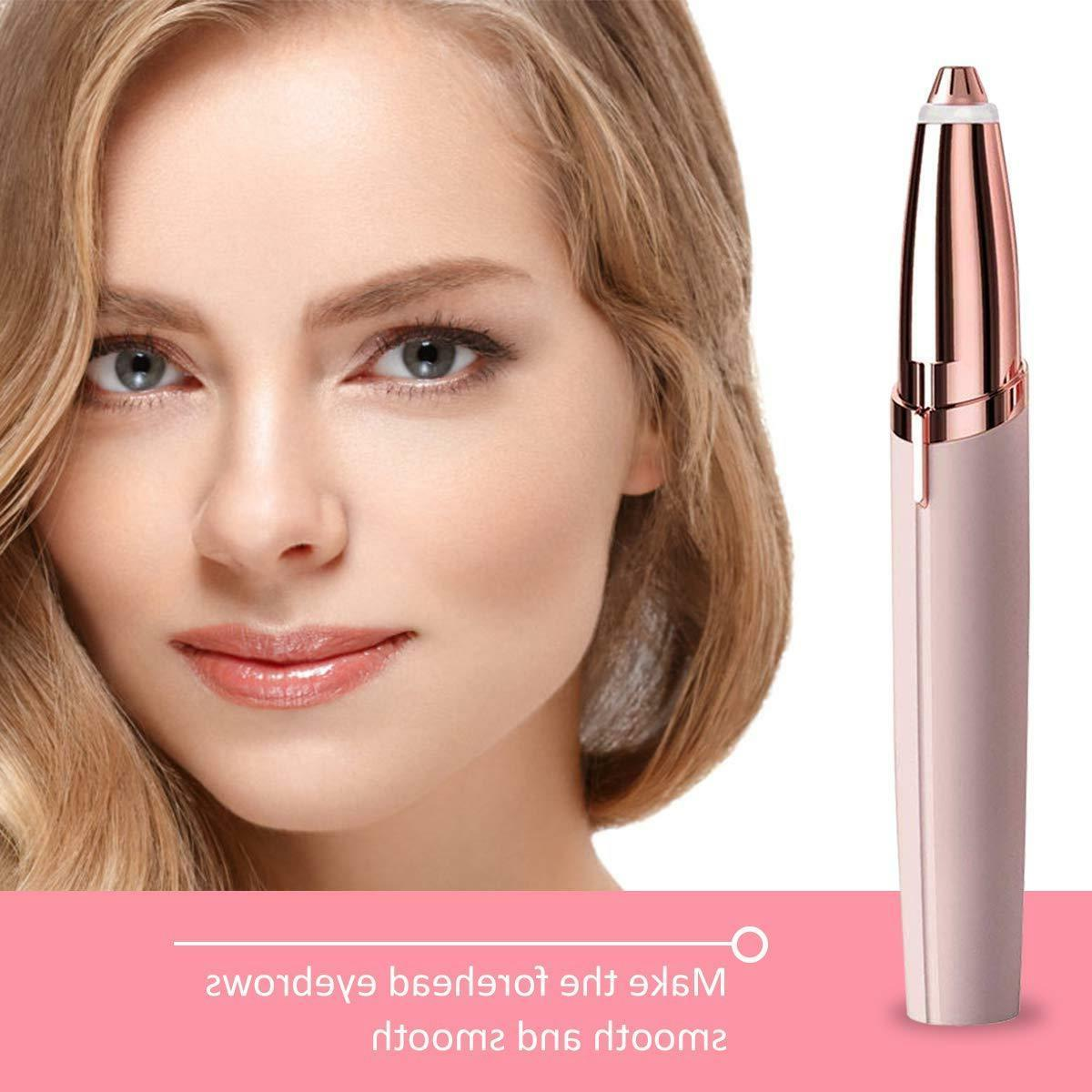 Eyebrow Women Electric touch Finishing Trimmer