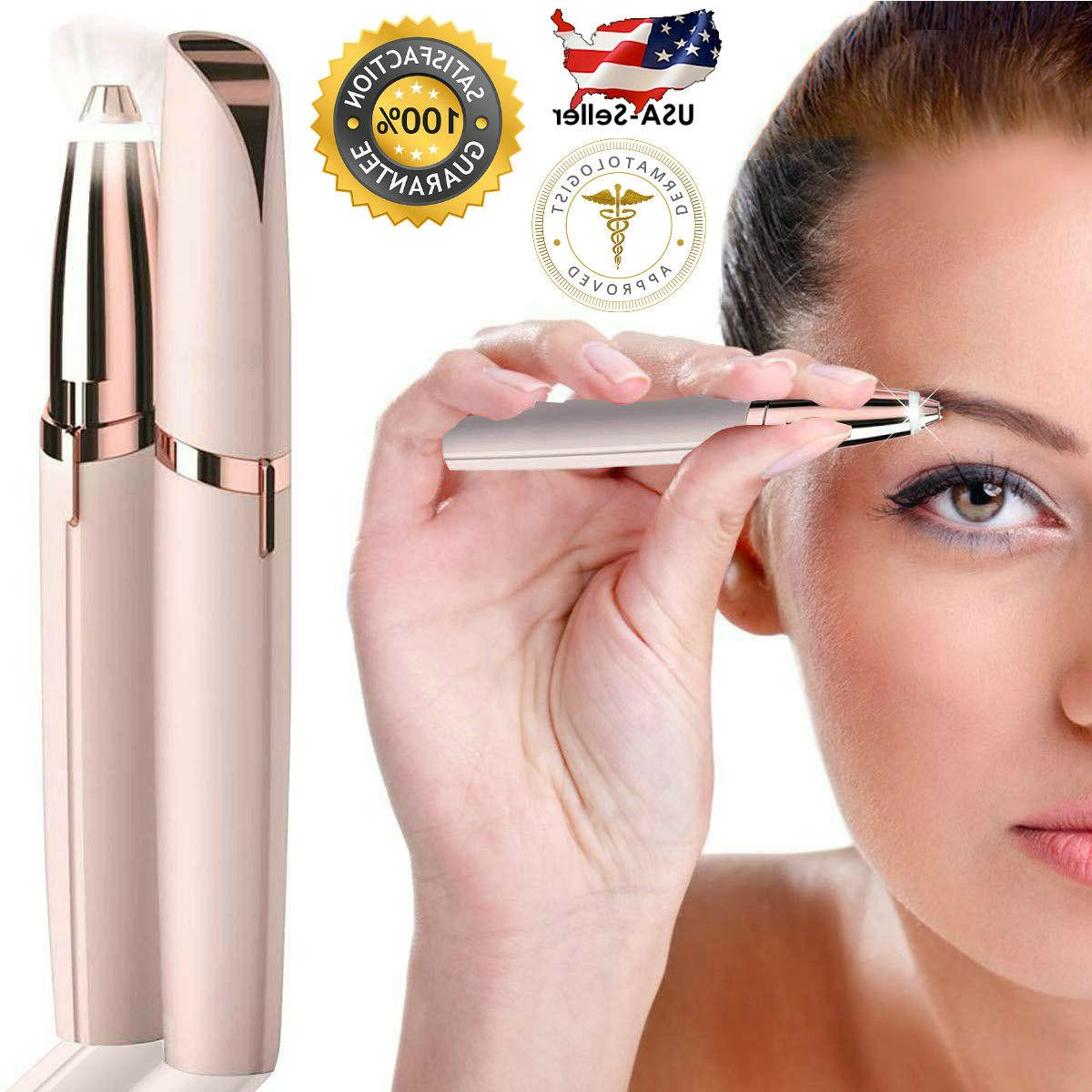 eyebrow hair remover women electric touch brows