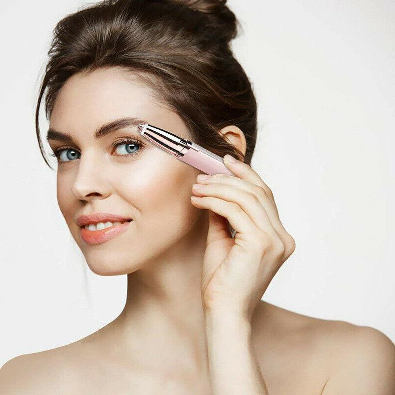 Eyebrow Trimmer Facial Removal For Women's Shaver