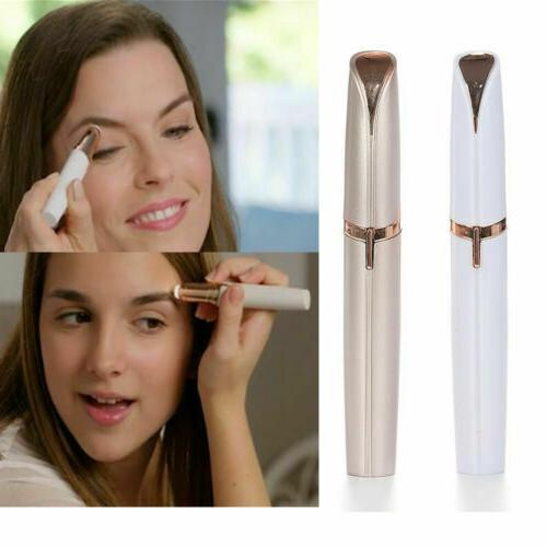 finishing touch women s brows trimmer electric