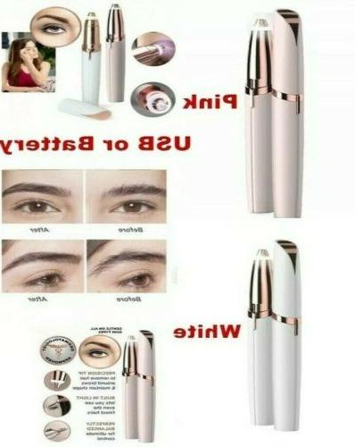 flawless brows trimmer electric eyebrow hair removal