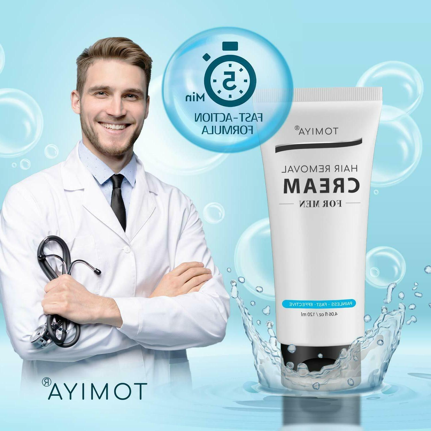 Hair Removal & & Fast & For Men 120ml