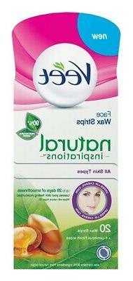 Veet Hair Removal Wax Strips For Face With