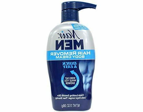 Nair Hair Remover Men Body Cream 368 ml Pump by Nair
