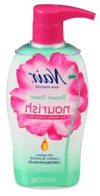 Nair Hair Remover Shower Power Nourish Pump 13 Ounce Legs/Bo