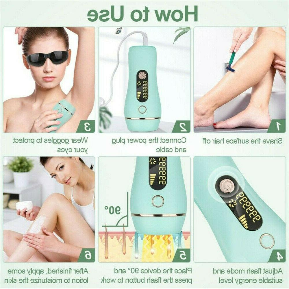 Laser Hair Removal Permanent 999999 Electric Machine Face