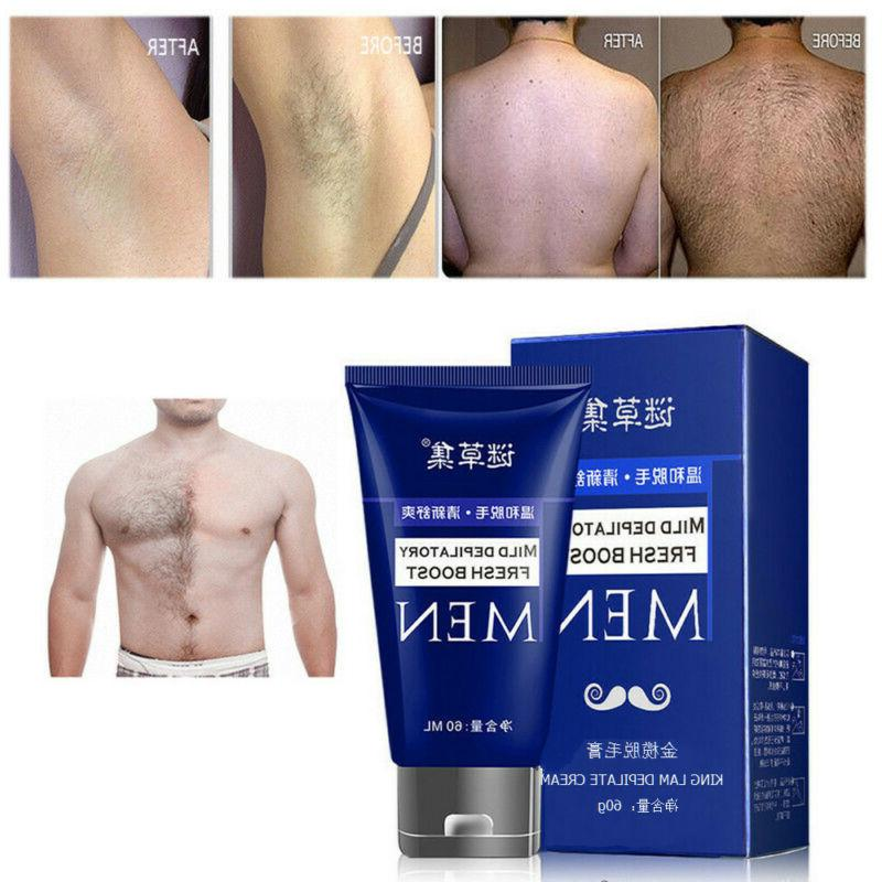 Hair Removal Cream Hand Leg Hair Loss Depilatory Cream for M