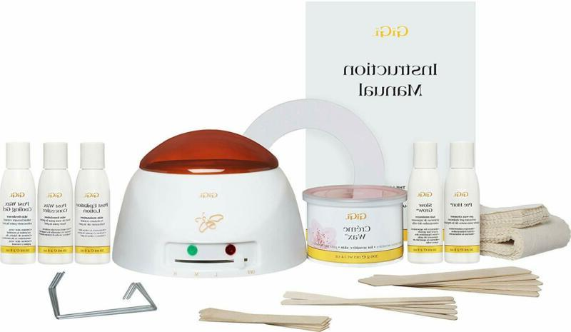 mini pro hair removal waxing kit