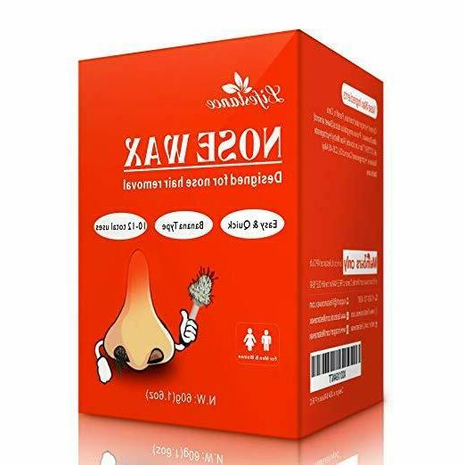 nose hair removal wax kit microwavable home