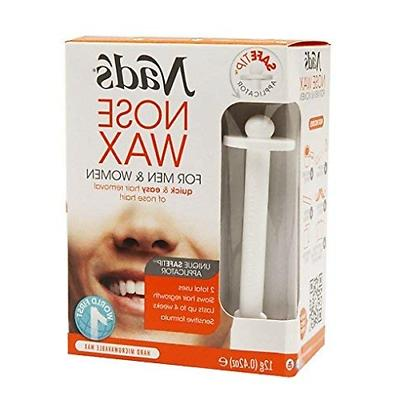 nose wax hair removal kit hypoallergenic quick